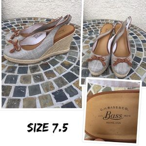 Bass shoes size 7.5